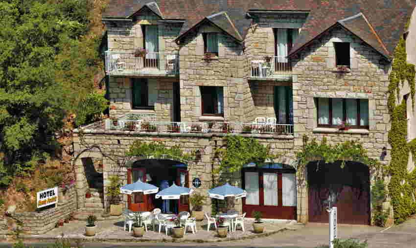 Hôtel Chante-Perdrix à Sainte-Enimie dans les Gorg